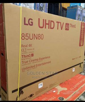 """""""2021 New Made LG 85''inchs UHD TV 4K Android Smart Wi-Fi's   TV & DVD Equipment for sale in Lagos State, Apapa"""