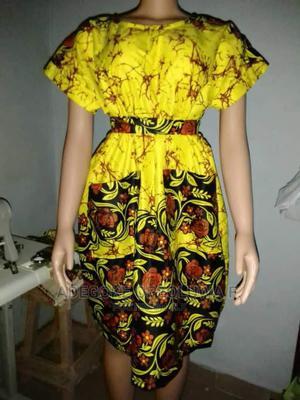 Ankara Shift Short Gown   Clothing for sale in Ogun State, Ado-Odo/Ota