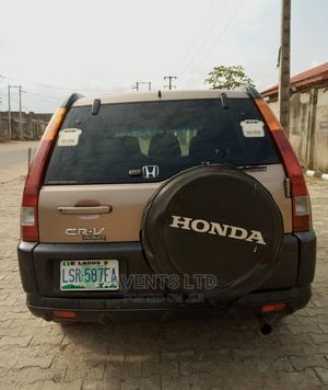 Honda CR-V 2003 Gold | Cars for sale in Lagos State, Alimosho