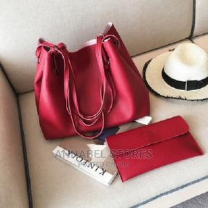 2 Piece Shoulder Tote Red Bag - 7503 | Bags for sale in Lagos State, Amuwo-Odofin