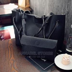 2 Piece Shoulder Tote Black Bag - 7503 | Bags for sale in Lagos State, Amuwo-Odofin