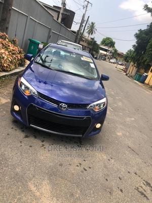 Toyota Corolla 2016 Blue   Cars for sale in Lagos State, Ilupeju