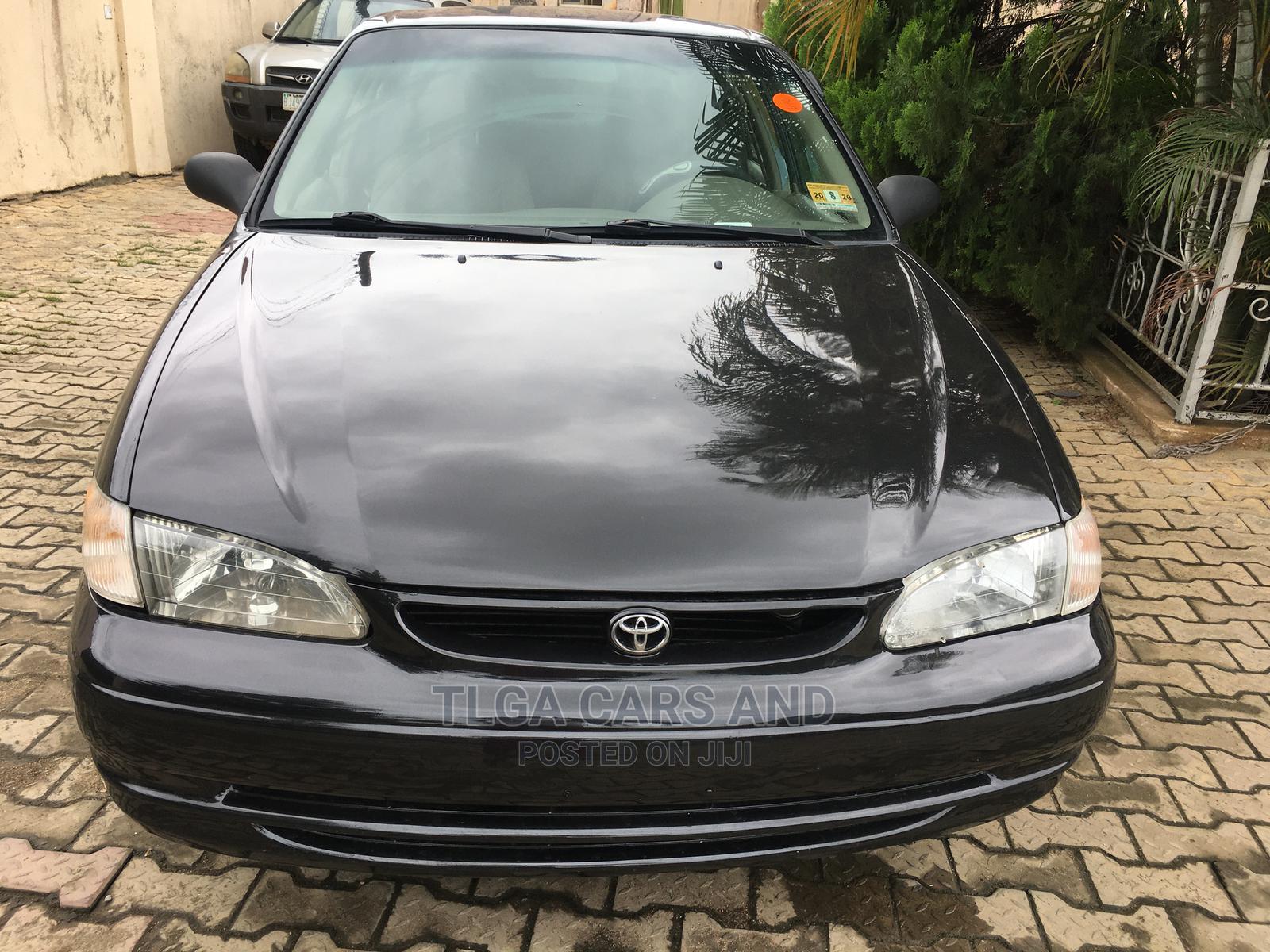 Toyota Corolla 1999 Sedan Automatic Black