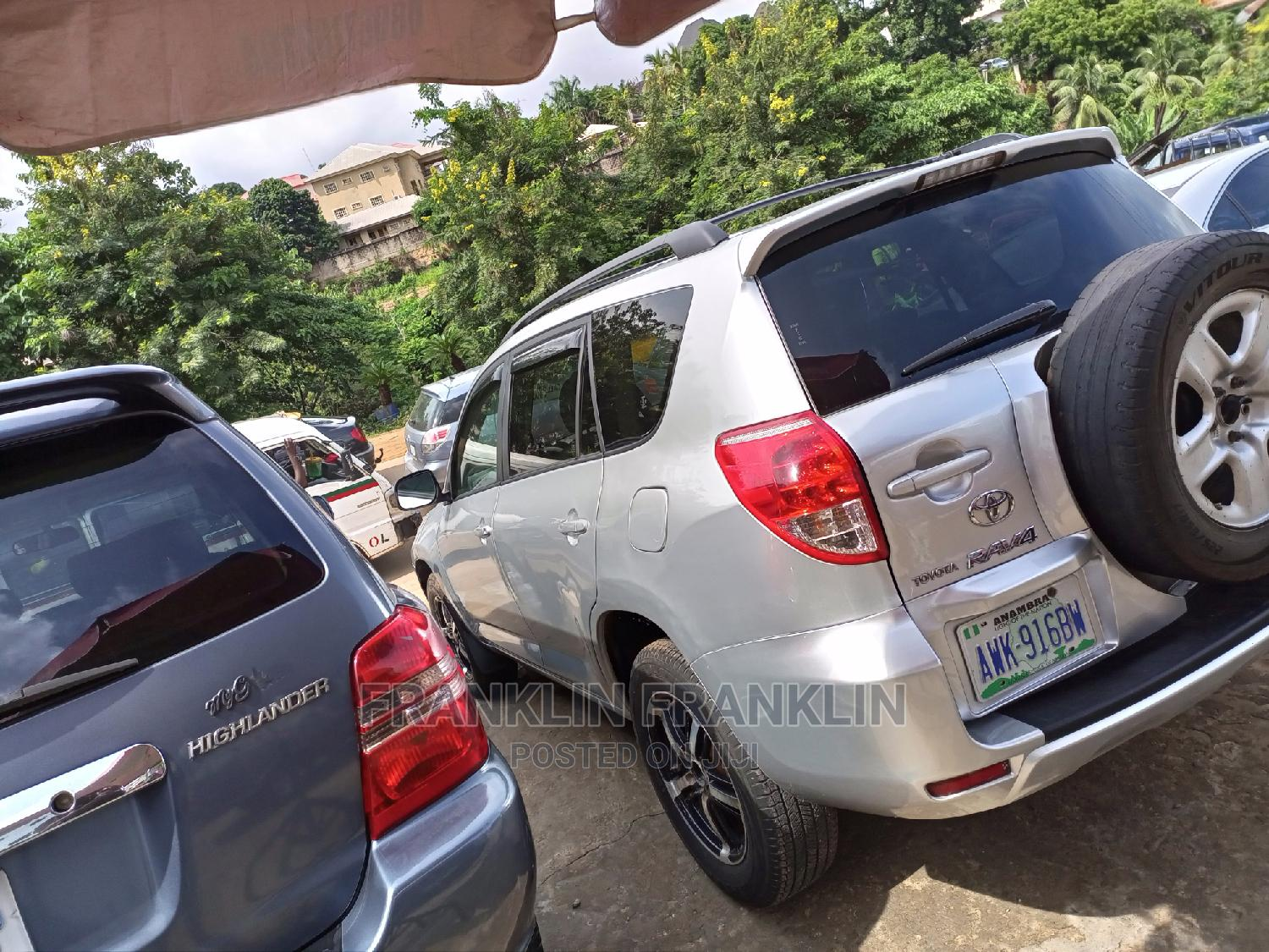 Toyota RAV4 2008 Silver   Cars for sale in Onitsha, Anambra State, Nigeria