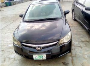 Honda Civic 2007 1.8 Black | Cars for sale in Lagos State, Agege