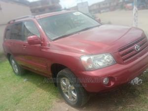 Toyota Highlander 2005 V6 Red | Cars for sale in Lagos State, Isolo