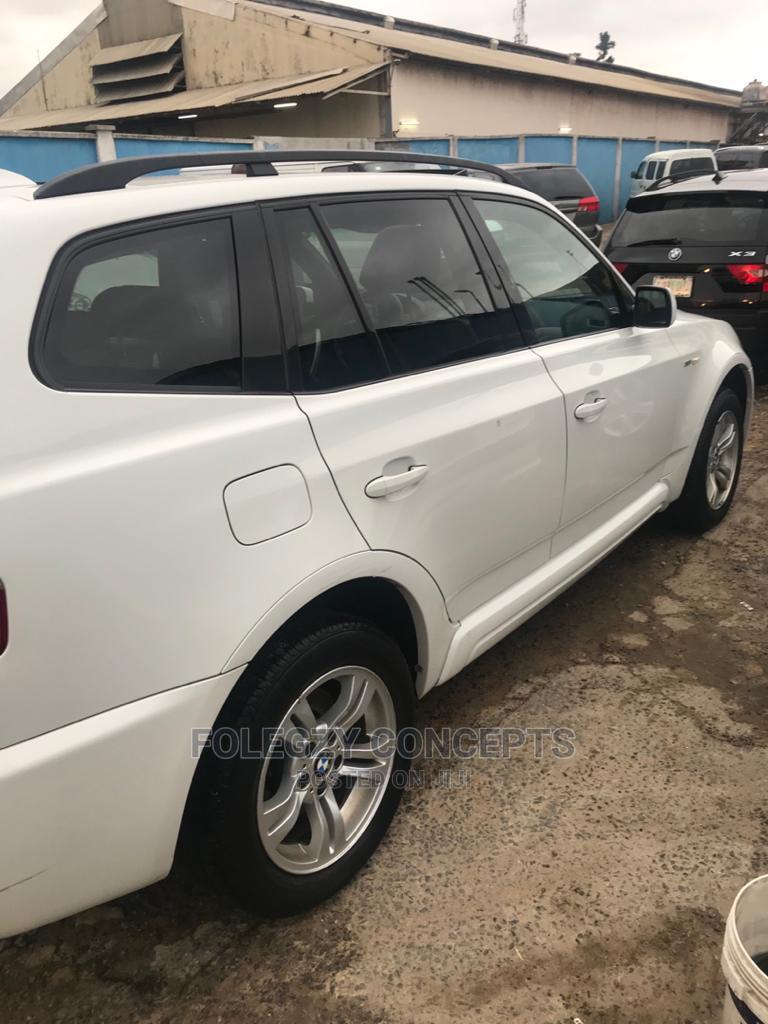 Archive: BMW X3 2006 White