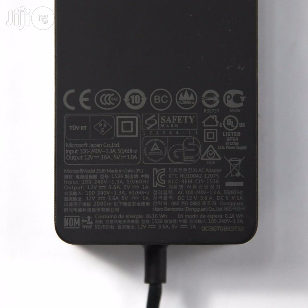 Microsoft Surface Pro 2 (12V 3.6A) Tablet Power AC Adapter   Accessories for Mobile Phones & Tablets for sale in Port-Harcourt, Rivers State, Nigeria