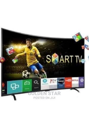 Brand New LG 55'' CURVED Screen 4K UHD Youtube Netflix App   TV & DVD Equipment for sale in Lagos State, Ojo