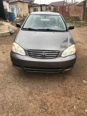 Toyota Corolla 2004 Sedan Gray | Cars for sale in Oyo State, Ibadan