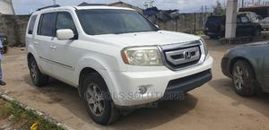 Honda Pilot 2010 LX 4dr SUV (3.5L 6cyl 5A) White | Cars for sale in Lagos State, Ibeju