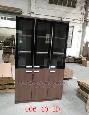 High Quality Strong 3 Doors Book Shelves | Furniture for sale in Lagos State, Lekki