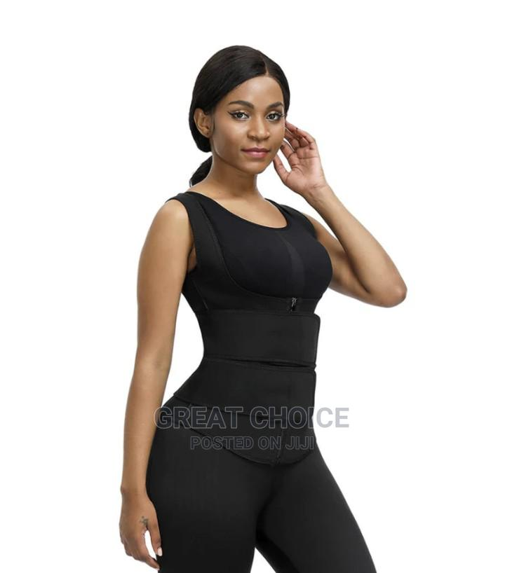 Latex Waist Trainer Vest - Double Compression Strap With Zip | Clothing Accessories for sale in Surulere, Lagos State, Nigeria
