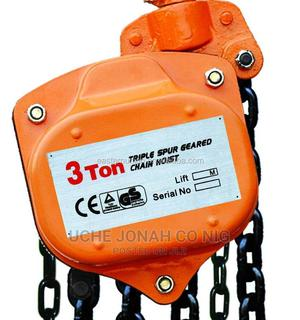 3ton Chain Block (Toyo) Available In Stock | Manufacturing Equipment for sale in Rivers State, Port-Harcourt