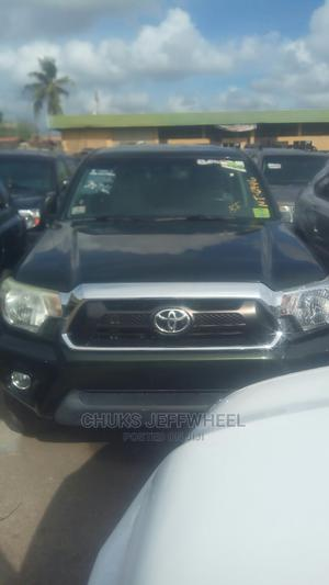 Toyota Tacoma 2012 Double Cab V6 Green   Cars for sale in Lagos State, Isolo