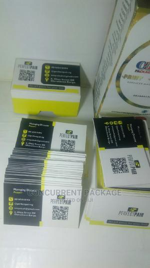 50PCS Free Business Call Cards | Printing Services for sale in Lagos State, Yaba