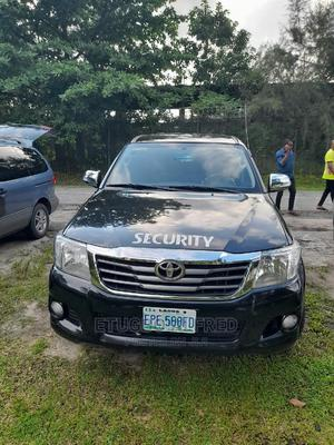 Toyota Hilux 2010 2.7 VVT-i 4X4 SRX Black | Cars for sale in Delta State, Warri