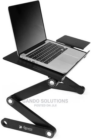 Foldable, Adjustable, Laptop Cooling Fan With Mouse Stand | Computer Accessories  for sale in Lagos State, Ikeja