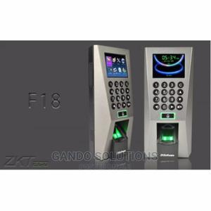Zkteco F18+ID Fingerprint Access Control Reader Controller | Safetywear & Equipment for sale in Lagos State, Ikeja