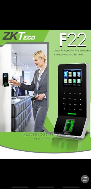 Zkteco F22 Fingerprint Time Attendance Access Control | Safetywear & Equipment for sale in Lagos State, Ikeja