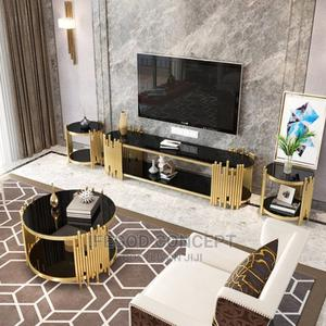 Center Table and Side Stool | Furniture for sale in Lagos State, Ojo