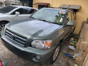 Toyota Highlander 2007 Limited V6 4x4 Green | Cars for sale in Lagos State, Surulere