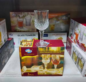 SMP 3pcs Crystal Wine Glass | Kitchen & Dining for sale in Lagos State, Lagos Island (Eko)