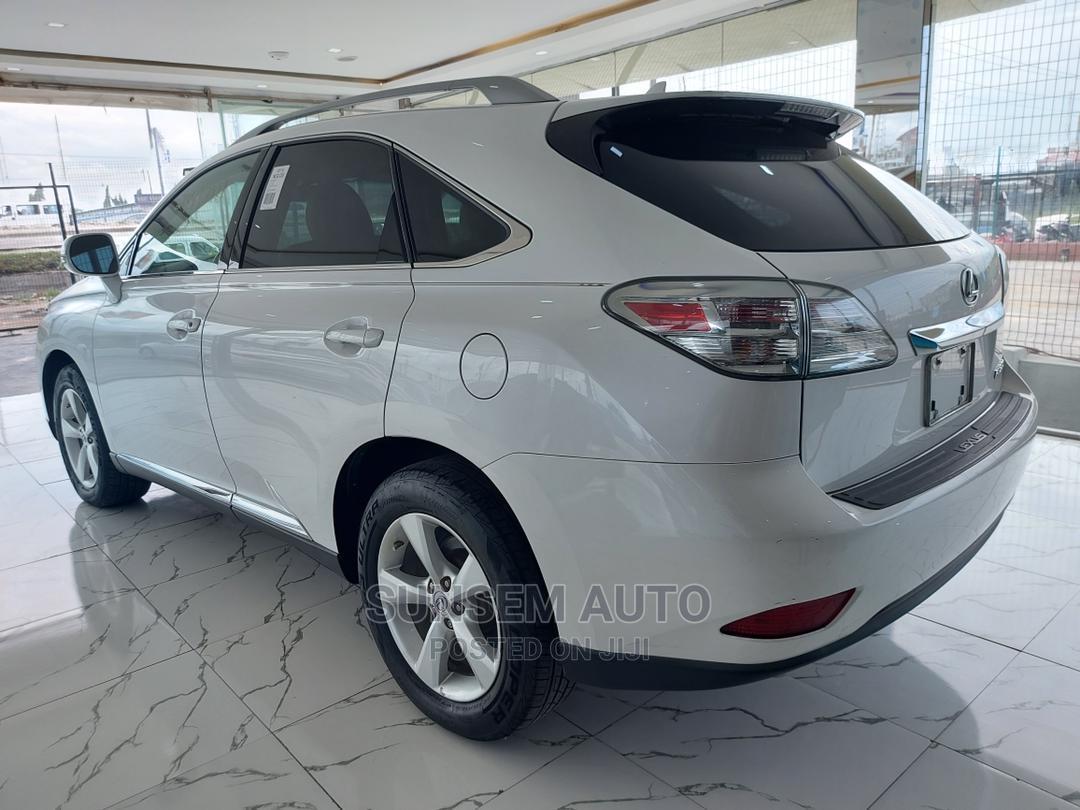 Lexus RX 2011 White
