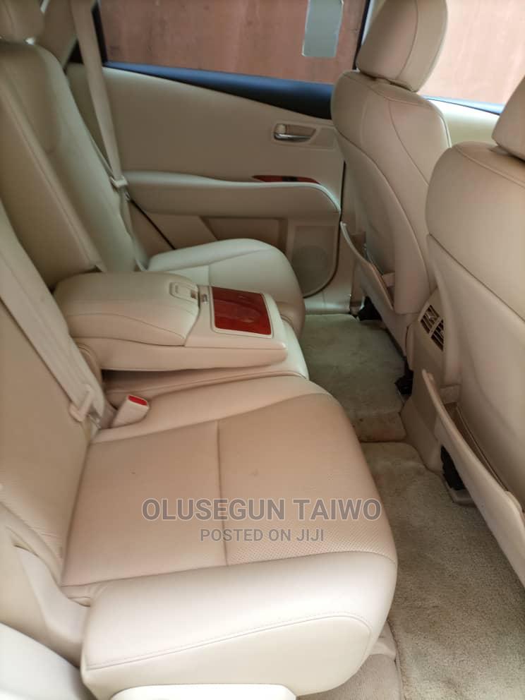 Archive: Lexus RX 2010 350 Gold