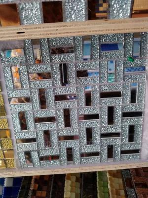 Mosaic Tiles, Silver Glass   Building Materials for sale in Lagos State, Orile
