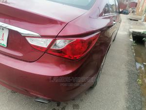 Hyundai Sonata 2012 Red   Cars for sale in Lagos State, Alimosho
