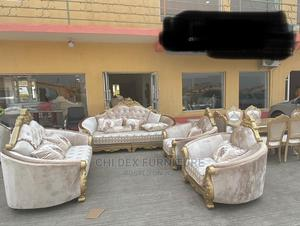 High Quality Complete Set of Imported Royal Sofa Chair | Furniture for sale in Lagos State, Ikeja
