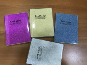 A6 Size Glitter Cover Jotters   Stationery for sale in Lagos State, Surulere