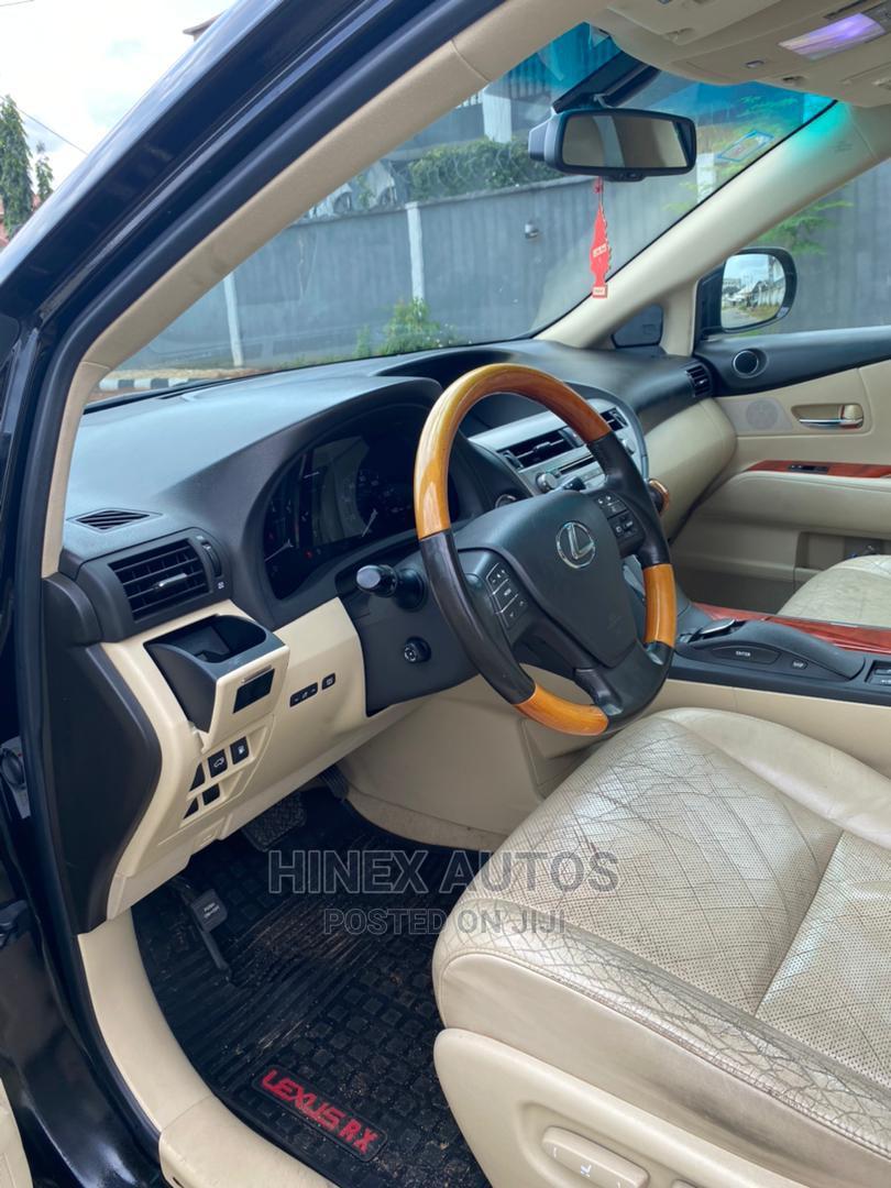 Archive: Lexus RX 2011 350 Black