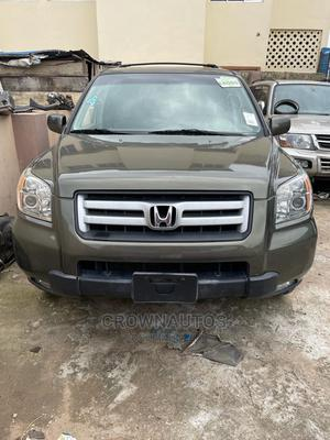 Honda Pilot 2007 LX 4x4 (3.5L 6cyl 5A) Green | Cars for sale in Lagos State, Ikeja