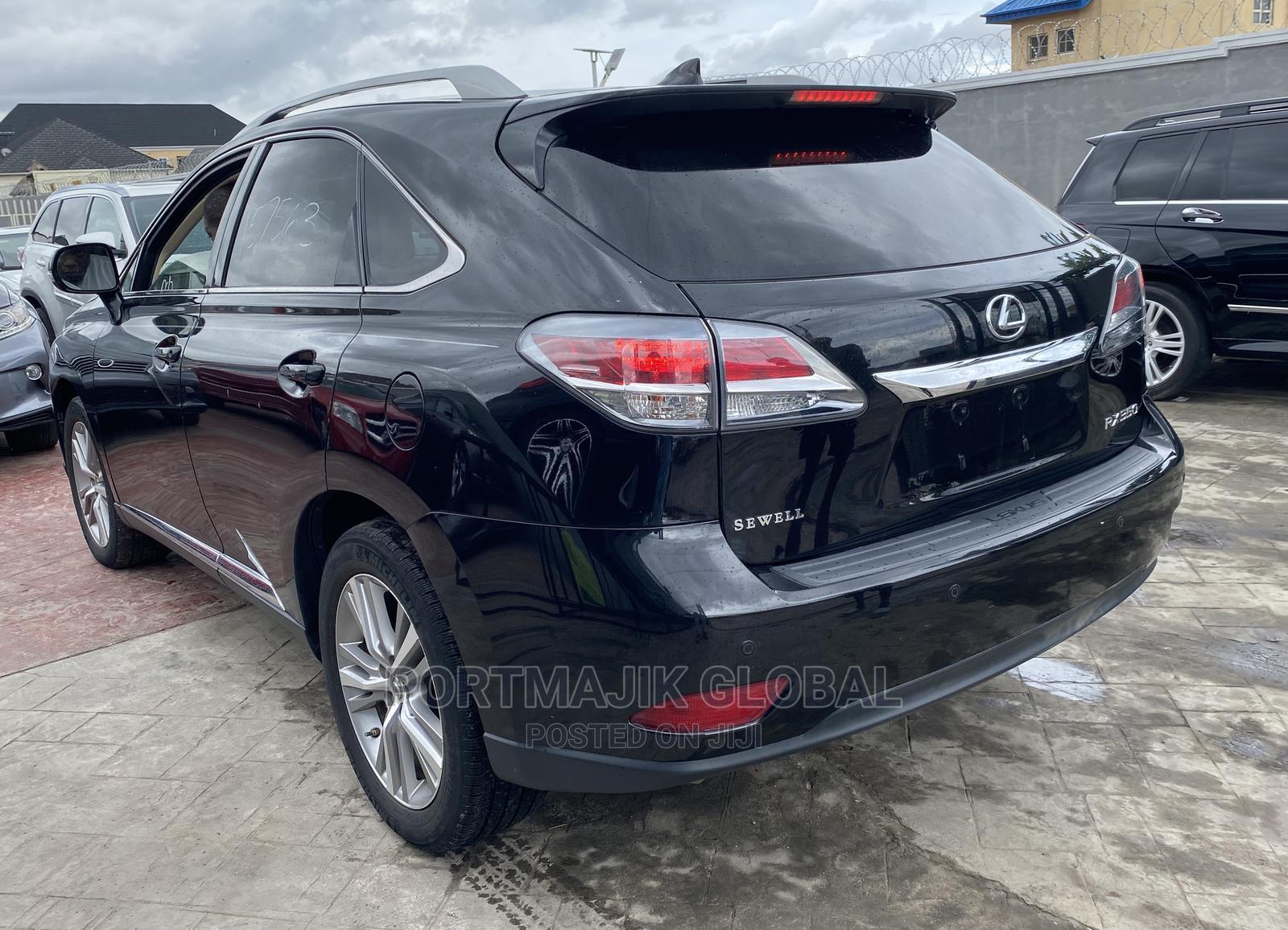 Lexus RX 2014 350 AWD Black | Cars for sale in Amuwo-Odofin, Lagos State, Nigeria