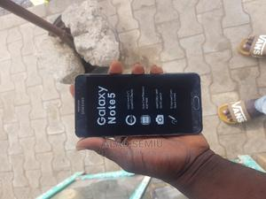 New Samsung Galaxy Note 5 32 GB Blue | Mobile Phones for sale in Kwara State, Ilorin West