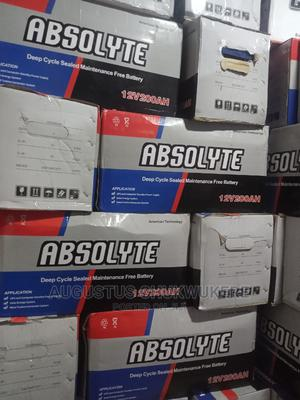 200ah 12V Absolyte American Technology Deep Cycle Battery   Solar Energy for sale in Lagos State, Ojo