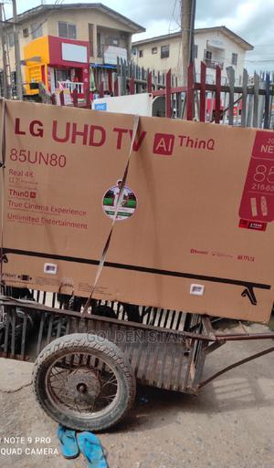 ✓LG 85''inchs 4K Uhd TV Ai Thinq 85un80 Google App Wifi 2yrs | TV & DVD Equipment for sale in Lagos State, Ojo