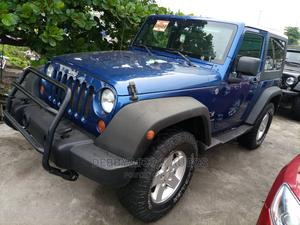 Jeep Wrangler 2010 Unlimited Sport Blue   Cars for sale in Lagos State, Amuwo-Odofin