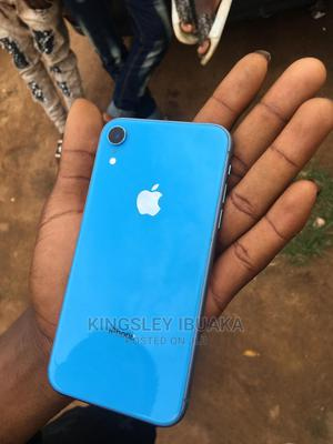 Apple iPhone XR 64 GB Blue   Mobile Phones for sale in Lagos State, Kosofe