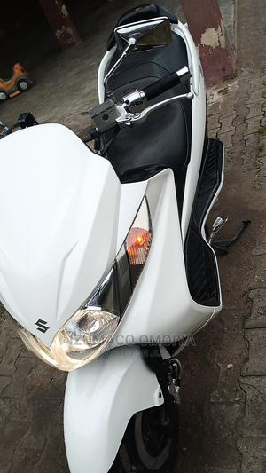 Suzuki 2015 White | Motorcycles & Scooters for sale in Lagos State, Ojo