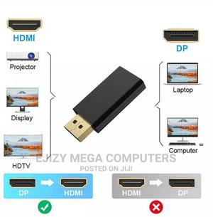 DP to HDMI Max 4K 60hz Displayport Adapter Male to Female | Computer Accessories  for sale in Lagos State, Lagos Island (Eko)