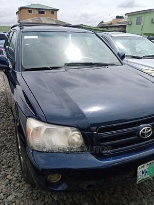 Toyota Highlander 2004 V6 AWD Blue | Cars for sale in Lagos State, Ifako-Ijaiye