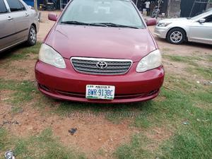 Toyota Corolla 2007 Red | Cars for sale in Abuja (FCT) State, Gwagwalada