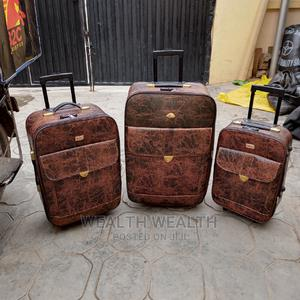 All Round Wheel Leader Polo Leather Luggage Bag | Bags for sale in Lagos State, Ikeja