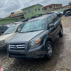 Honda Pilot 2008 EX 4x2 (3.5L 6cyl 5A) Gray | Cars for sale in Lagos State, Ogba