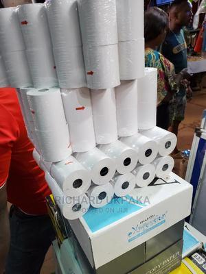 Thermal Paper 57/50mm   Stationery for sale in Enugu State, Enugu