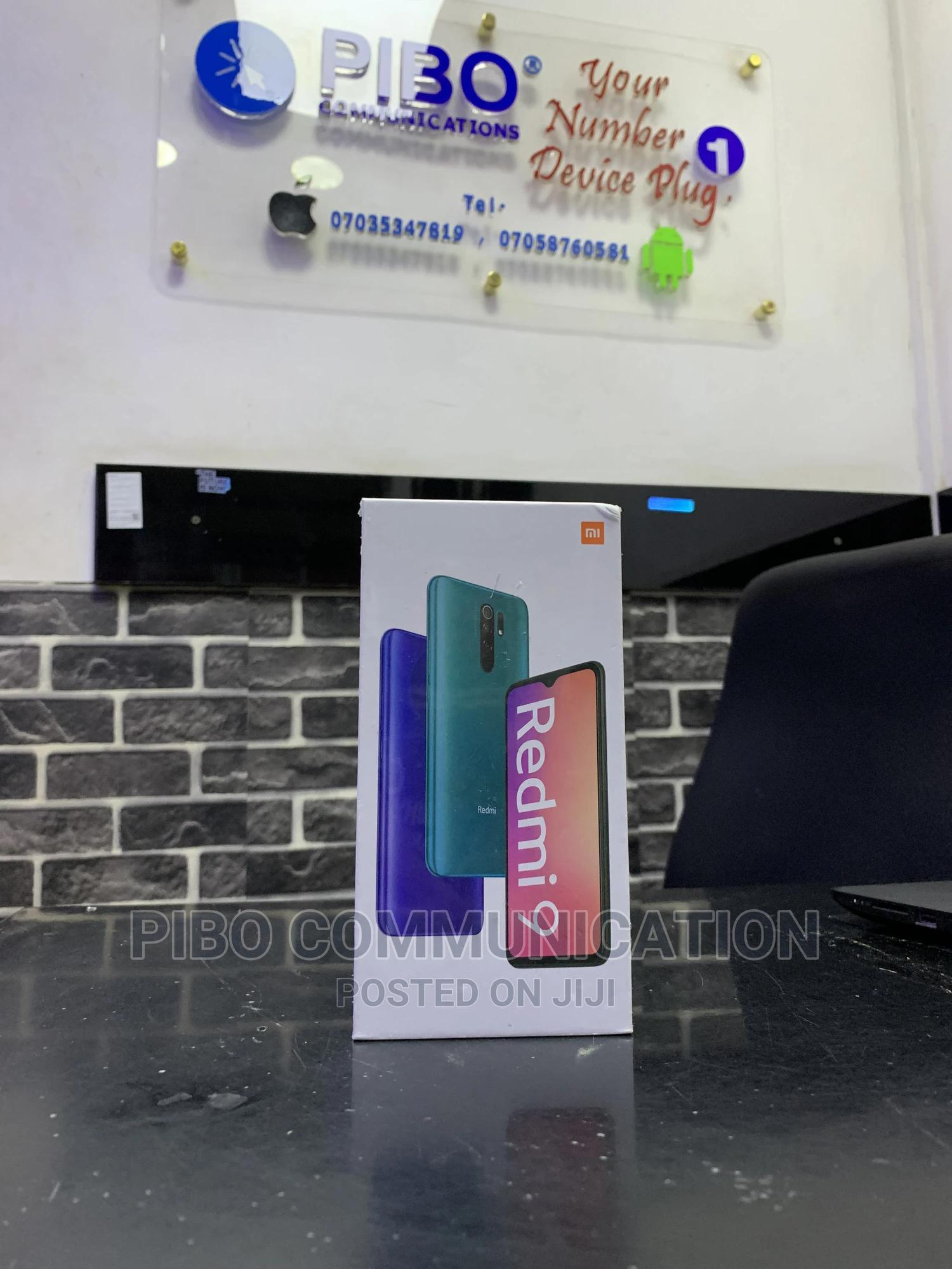 New Xiaomi Redmi 9 64 GB Gray | Mobile Phones for sale in Ifako-Ijaiye, Lagos State, Nigeria