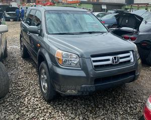 Honda Pilot 2008 EX-L 4x2 (3.5L 6cyl 5A) Gray | Cars for sale in Lagos State, Agege
